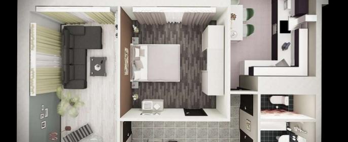 Разработка дизайн проекта квартир